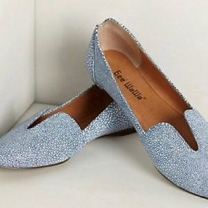Speckled Lydia flats from Anthropologie